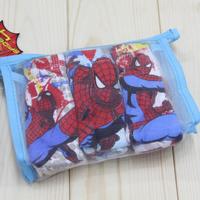 Children boys cotton underwear briefs Spiderman retail gauze dress