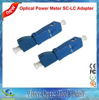SC to LC Adapter for Power Meter Fiber Optic Optical Light Source 2pcs/lot