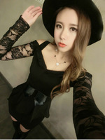 The new winter sexy dress package hip temperament socialite cultivate one's morality dress wc023
