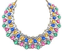 Sparkling Full Crystal Collar Necklace Rhinestone Statement Bib Necklace New Fashion Jewelry for Women BJN910632