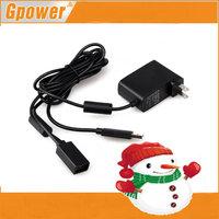 New USB AC Adapter Power Supply Cable Cord Charger For Microsoft 360 Kinect Ki-nect Sensor