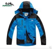 Autumn outdoor single ski-wear, male leisure coat Warm warm waterproof windproof mountaineering wear