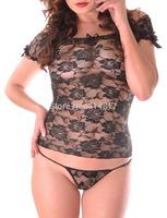 HOT Sexy Women Girls Ladies Lace Sleepwear Underwear  Lingerie G-string Thongs Costume Nightwear Set Dress [GM155]