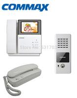 Commax  DPV-4PNC Color Door Phone Waterproof Outdoor Camera Panel Video Intercom System+Doorphone Audio Intercom