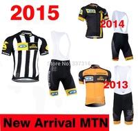 New Arrival!2015 MTN Cycling Jersey bib Kit Short Sleeve+bib Shorts Men Ropa Ciclismo Bike Wear MTB Clothing High quality