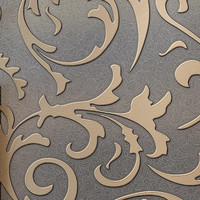 Modern Gray Damask Wallpaper  papel de parede 3D para sala zk33 mural tv background