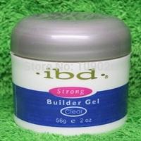 Retail 1pcs Acrylic Nail Art UV nail Gel salon profesional nail art IBD Builder Gel 2oz / 56g clear one nails/tools