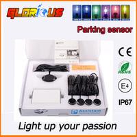 HOT sale&Fast shipping!! LED Display Car Parking Back-Up Reverse Radar w 4 Sensors Rearview Promotion Parking sensor