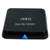 Original M8 fully loaded XBMC Amlogic S802 Android TV Box Quad Core Mali450 4K 2.4G 5G Dual WiFi Pre-installed ADD ONS 1G RAM