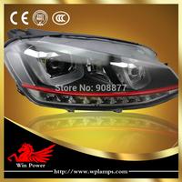 Upgrade LED headlight for VW Volkswagen golf MK7 GTI headlight LED DRL LED turn light for VW golf 7 GTI phare
