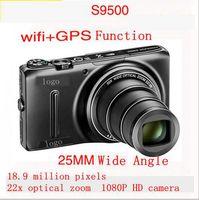2015 new S9500 Digital Camera 18.9 million pixels 22x telephoto HD support WIFI GPS 25mm super wide-angle 1080P Full HD video