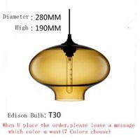 Stargazer Pendant Lighting Niche Modern Glass Hanging Light Vintage Edison bulb Fixture Lustres Abajur Luminarias