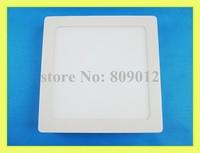 Surface Mounted square LED panel light lamp LED ceiling light panel 18W SMD2835 90led 2 year warranty free shipping