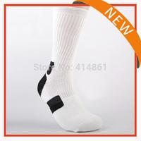 New 2015 Free shipping Basketball socks Cotton socks man sport socks big size(3 pair = 1 lot)