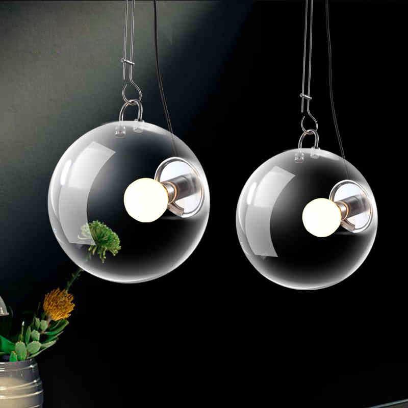 Online kopen wholesale helder glas hanglamp uit china helder glas hanglamp groothandel - Kleine amerikaanse keuken ...