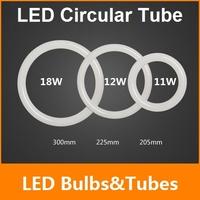 New 11W 12W 18W AC85-265V G10q SMD2835 T9 LED Circular Tube LED circle light LED Ring lamp/LED light Free Shipping