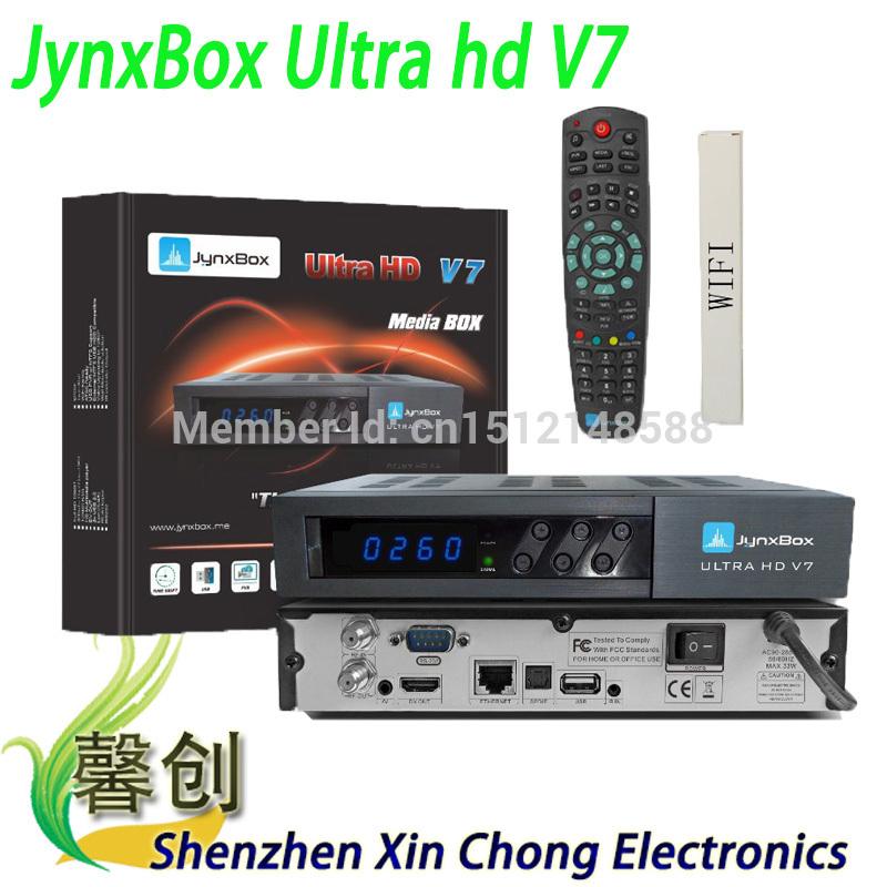 north america 1080p hd receiver jynxbox ultra hd v7 fta satellite tv receiver fta iks Accoun satellite finder(China (Mainland))