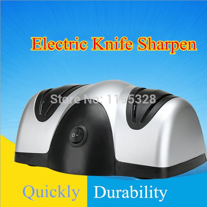 Qualität multi- Funktion elektrische Schleifstein küche elektrogeräte zwei Boxen elektrischen anspitzer