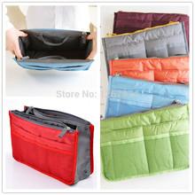 Promotion Make up organizer bag Casual travel bag multi functional Thicken storage bag Zipper Handbag Portable Case Holder(China (Mainland))