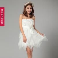 custom made wholesale short paragraph Lovely, lively princess dress evening dress