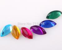 3*6MM Acrly stones loose Rhinestones popular diamond fit cloths stones water-drop sew-on stones 300pcs/lot Free shipping