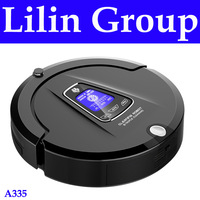 (Free to Russia)2015 New Multifunction Robot Vacuum Cleaner(Sweep,Vacuum,Mop,Sterilize),LCD,Schedule,2Way VirtualWall,SelfCharge