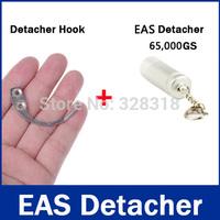 1Pc Mini Detacher Magnetic Force 6,500gs 1Pc Detacher Hook Key Tag Remover EAS System