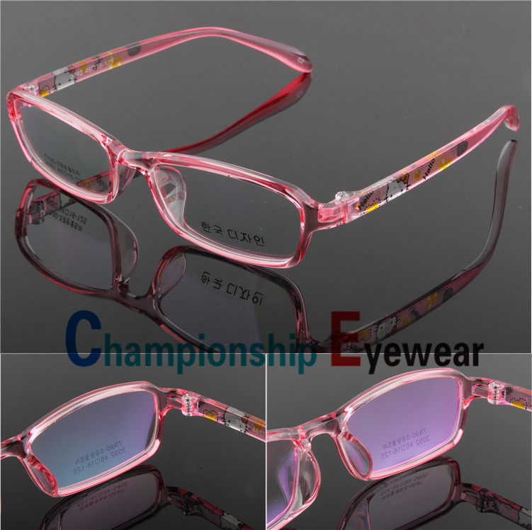 Kids Clear Fashion Glasses Color Brand Kids Children