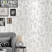 Delfino 3D wallpaper bedroom modern minimalist non-woven flocking  living room TV backdrop wallpaper