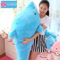 Pernycess 1pcs 140cm Dolphin plush toy dolls pillow creative birthday gift