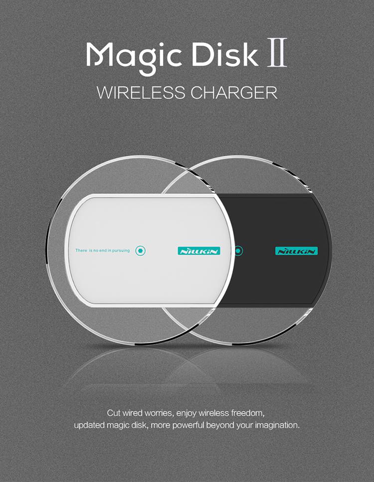 NILLKIN Magic Disk II wireless charger Charging Pad for Lumia 930 Lumia 1520, for LG Nexus 5 Moto nexus 6 Support Qi standard
