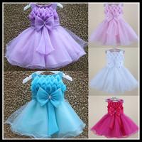 2015 Vestido De Meninas Children Girl Dress Cute Princess Wedding Party Dress Children Dress For Girls 3-8 Years Evening Dresses