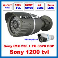 HD Sony 1200TVL Outdoor Waterproof Video Surveillance with IR-CUT Filter Security 24 Leds Night Vision IR 20 Meters CCTV Camera