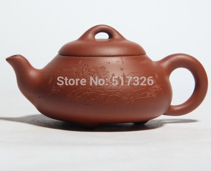 Free Shipping Yixing teapot tea pot filter beauties handmade Dwarf clear cement stone scoop Hi Quality(China (Mainland))