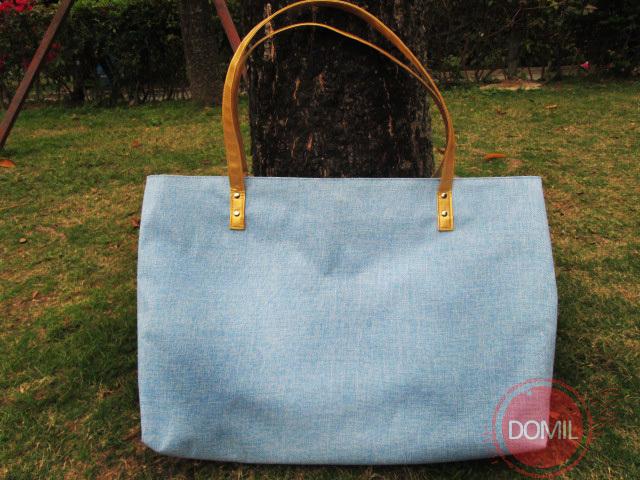 Free Shipping Large Eco Friendly Burlap Monogram Tote bag Lined Beach Bag Shopping Bag ZKD-105033(China (Mainland))