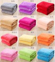 Wholesale children blanket coral carpet - flannel blanket  5 pcs/lot