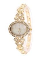 Women Fashionable Luxury Rhinestone Watch Stainless Steel Women's Leisure Quartz Bracelets Watch
