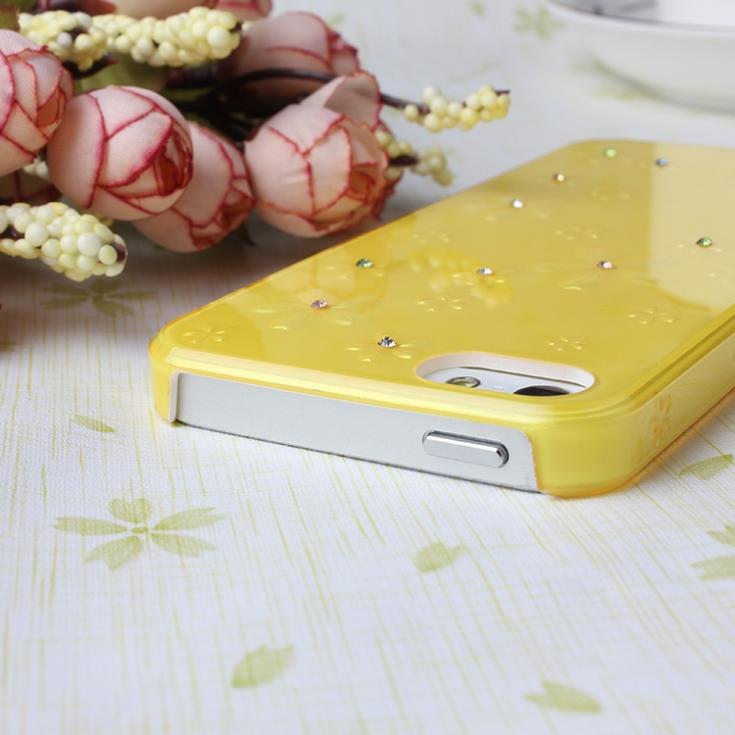 2014 New Arrival Bling Rhinestone Hard Back Cover For Apple iPhone 5 5s 5g iPhone5s iPhone5 Cell Phone Case Free Shipping(China (Mainland))
