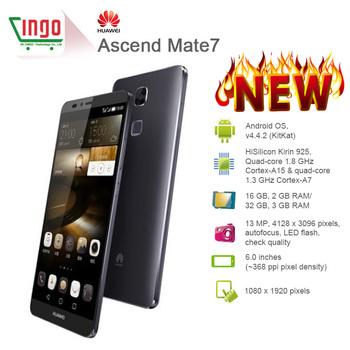 "Huawei подняться мат 7 4 г FDD LTE смартфон Kirin925 окта ядро Android 4.4 1.8 ГГц 2 ГБ + 16 ГБ ROM 6 "" FHD экран 13MP камера 4100 мАч"