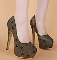 2015 New Fashion pumps high heels shoes elegant women pumps thin heels pumps shoes platform heels