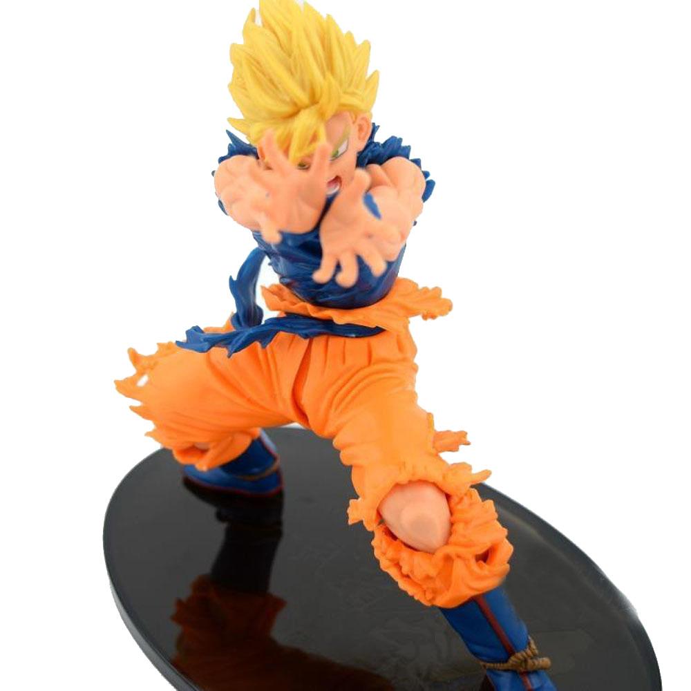 17cm Dragon Ball Z action figures Tenkaichi 4 Vol.1 Son Goku PVC Figure Shockwave Posture kids gifs New in Box(China (Mainland))