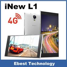 Original Inew L1 4G FDD LTE 3G WCDMA Smart Mobile Phone 5.3 inch Gorilla Glass Quad Core Android 4.4 OTG 2GB + 16GB 13.0MP GPS