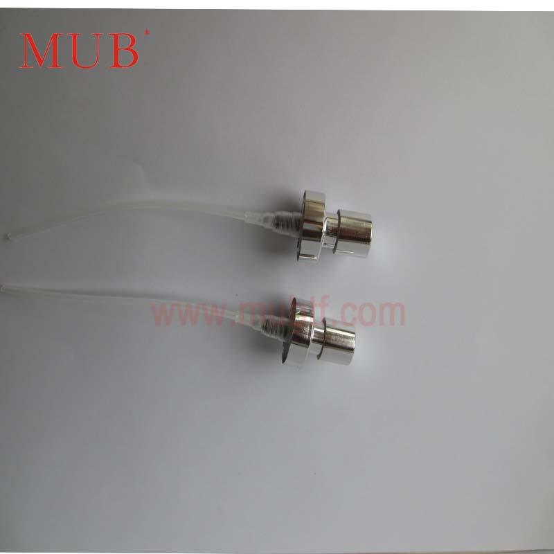 NO.16.3 50Pcs/Lot Silver Plated Perfume Pump Sprayer Spray Head Free Shipping(China (Mainland))