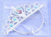 Fashion frozen elsa and anna tiara crown for sale