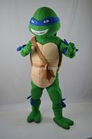adult cosplay Teenage Mutant Ninja Turtle Mascot Costume Adult Character Costume free shipping