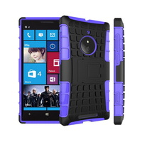 New Arrival Rugged Hard TPU+PC Robot Phone cases Back Cover Stand Holder kickstand Case For Nokia Lumia 830