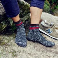 Summer and autumn new all-match Pinstripe coarse stripe of folk style retro men in tube socks