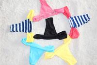 Free Shipping Brazilian Bikini Swimwear Sexy Women Mini Briefs Micro Bikini Simple Thongs Underwear 1603