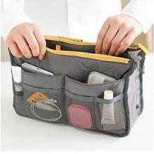 2014 New Dual Zipper Portable Multifunction Thicken Storage Bag Case Holder finishing bag storage box(China (Mainland))