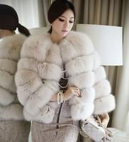 xxx4 Woman NEW 2014 Winter Coat Complete Skin High-Grade Soft Fur Fox Collars Fox Fur Coat Blazer Women All Kinds Color Womens